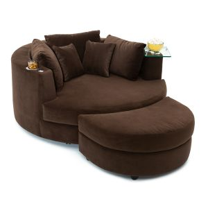 Swivel Cuddle Couch by Seatcraft