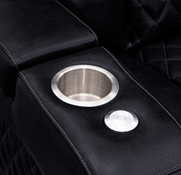 Multiple Cupholder Finishes