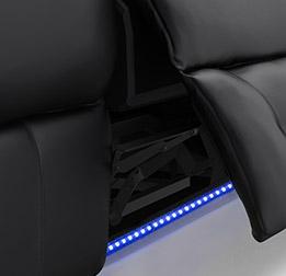 Blue LED Baselighting