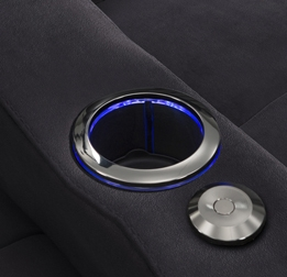 LED Lighted Cupholders
