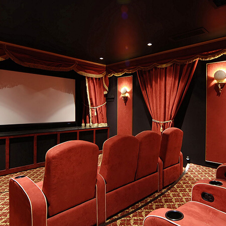 Theaterseat Cavallo Rapture Complete Home Theater