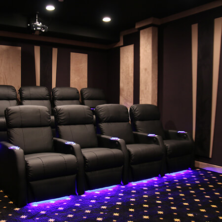 Theaterseat Seatcraft Sienna Complete Home Theater