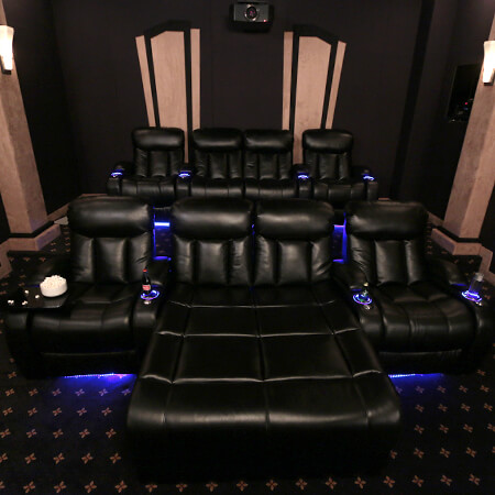 Theaterseat Seatcraft Grenada Complete Home Theater