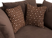 2 FREE Accent Pillows