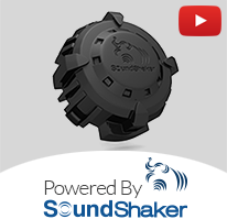 Powered By Sound Shaker